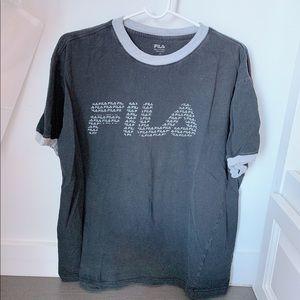 Fila short sleeve tee with fila logo
